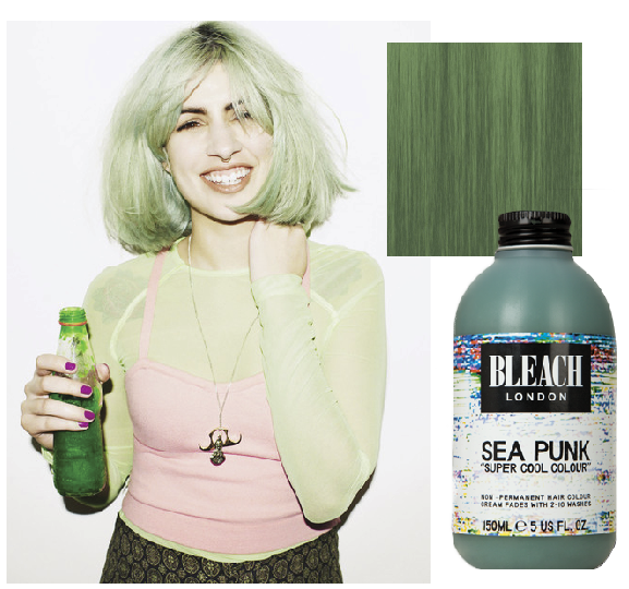 Trends I   ll never pull off  1     MermaidThora Birch Ghost World Green Hair