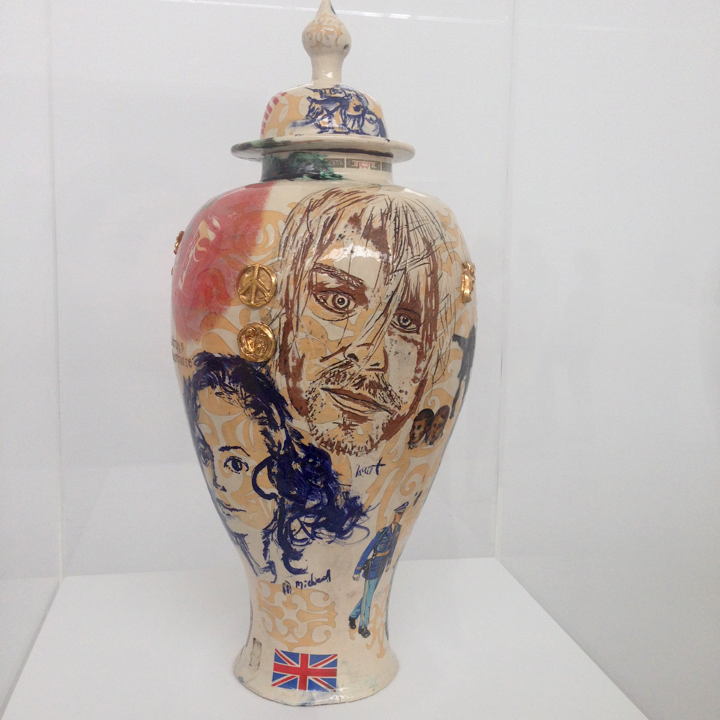 Grayson perry at the turner sickly sundae photo 28 06 2015 15 28 52 reviewsmspy